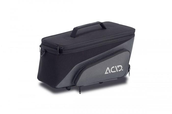 Acid Trunk 8+7 RILink Fahrrad Gepäckträgertasche schwarz