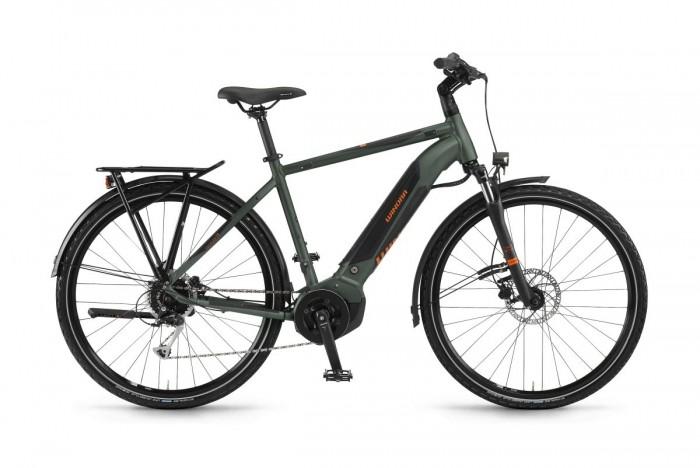 Winora Yucatan i9 Pedelec E-Bike Trekking Fahrrad grün 2020