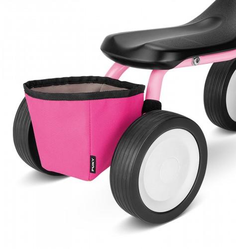Puky RT 1 Rahmentasche für Pukylino, Wutsch pink
