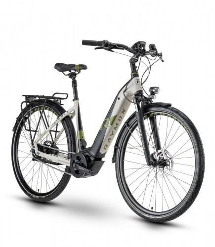 Raymon Citray E 6.0 Pedelec E-Bike City Fahrrad schwarz/beige 2020
