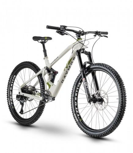 Raymon Fullray 9.0 27.5'' Carbon MTB Fahrrad beige 2020
