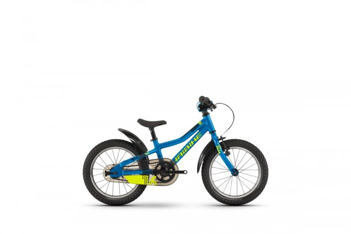 "Haibike Seet Greedy 16""Kinder Fahrrad blau/gelb 2021"