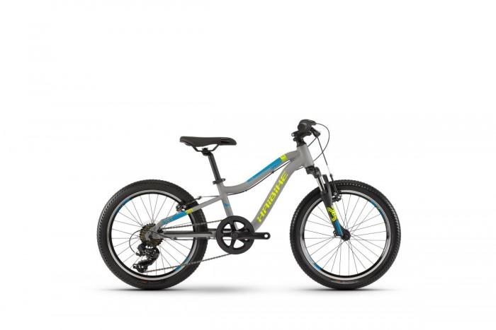 "Haibike Seet Greedy SF 20""Kinder Fahrrad grau/gelb/blau 2021"