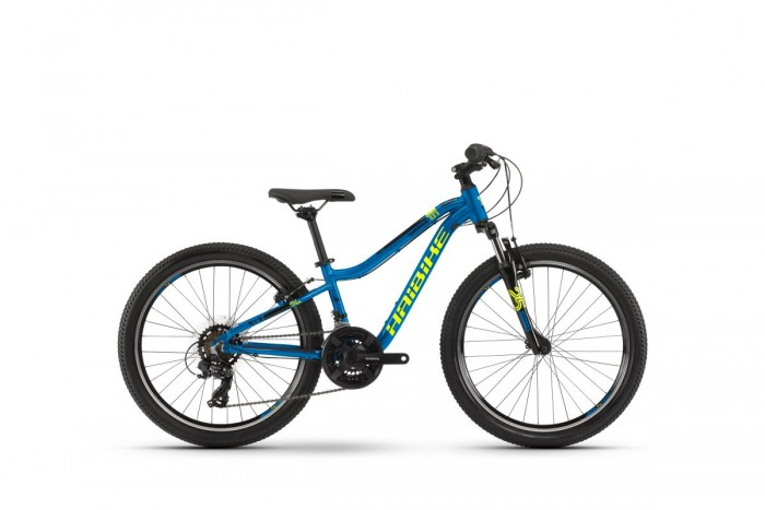 "Haibike Seet HardFour 1.0 24""Kinder Fahrrad blau/gelb/schwarz 2021"