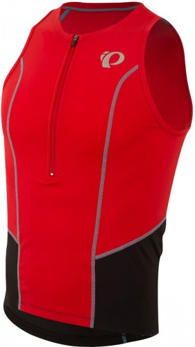 Pearl Izumi Select Pursuit Triathlon Body Shirt rot/schwarz 2017