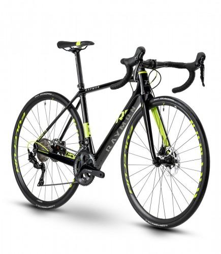 Raymon Raceray 7.0 Carbon Rennrad schwarz/grün 2021