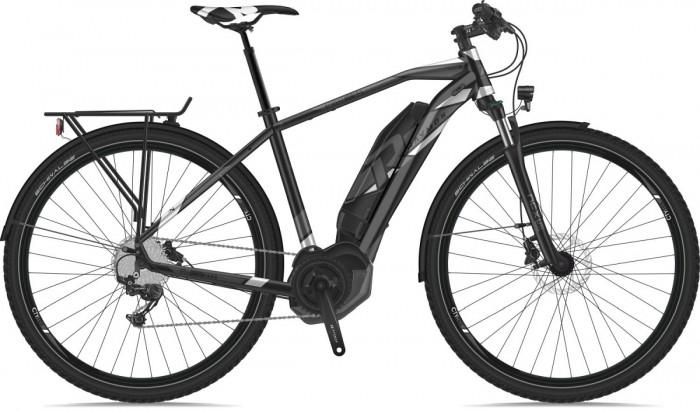 Raymon E-Tourray 5.5 Pedelec E-Bike Trekking Fahrrad grau/weiß 2019
