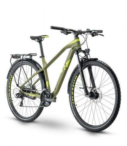 Raymon HardRay Seven 1.5 Street 27.5'' MTB Fahrrad grün 2021
