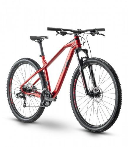 Raymon HardRay Nine 2.0 29'' MTB Fahrrad rot 2021
