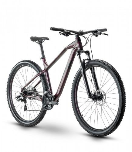 Raymon HardRay Nine 2.0 29'' MTB Fahrrad wein rot 2021
