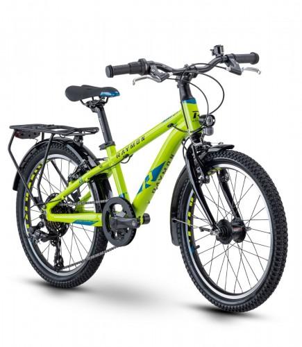 Raymon Tworay 1.5 Street 20'' Kinder Fahrrad grün 2021