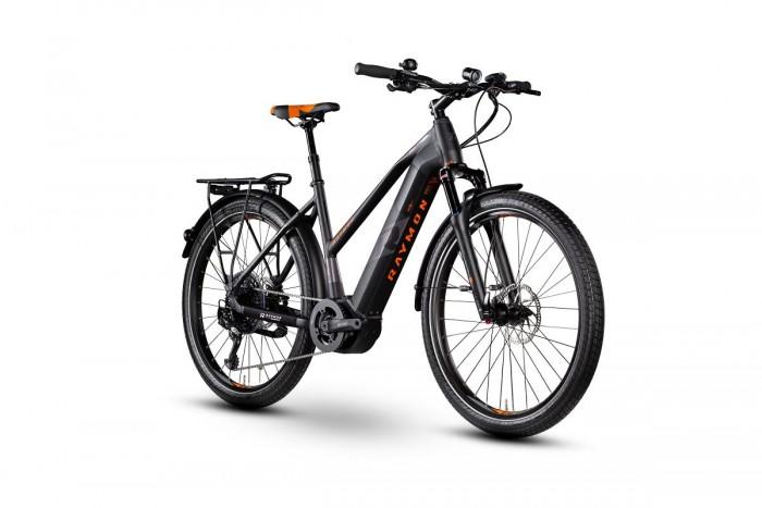 Raymon E-Tourray LTD 2.0 Damen Pedelec E-Bike Trekking Fahrrad schwarz/orange 2020