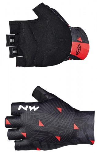 northwave switch line fahrrad handschuhe kurz schwarz 2018. Black Bedroom Furniture Sets. Home Design Ideas