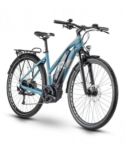 Raymon Tourray E 5.0 Damen Pedelec E-Bike Trekking Fahrrad blau/grau 2020