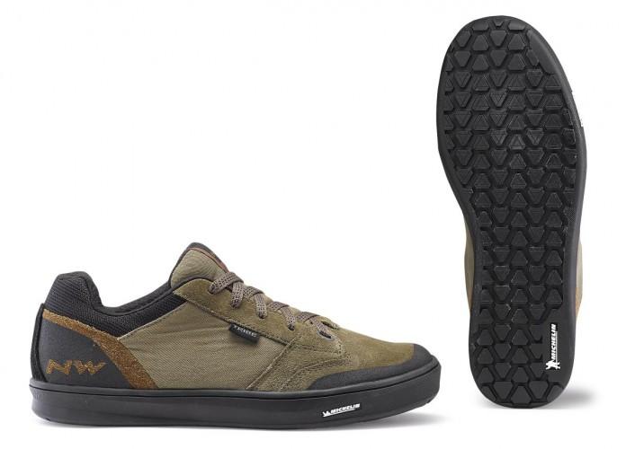 Northwave Tribe MTB Dirt Fahrrad Schuhe beige/schwarz 2020