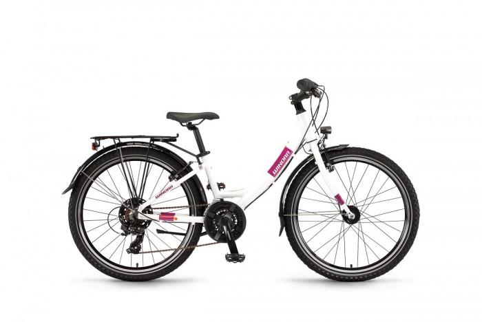 "Winora Chica 24"" 21 Gang Kinder Fahrrad weiß/pink 2021"
