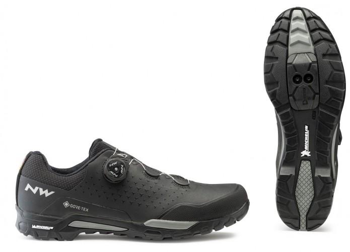 Northwave X-Trail Plus GTX Winter Fahrrad Schuhe schwarz 2021