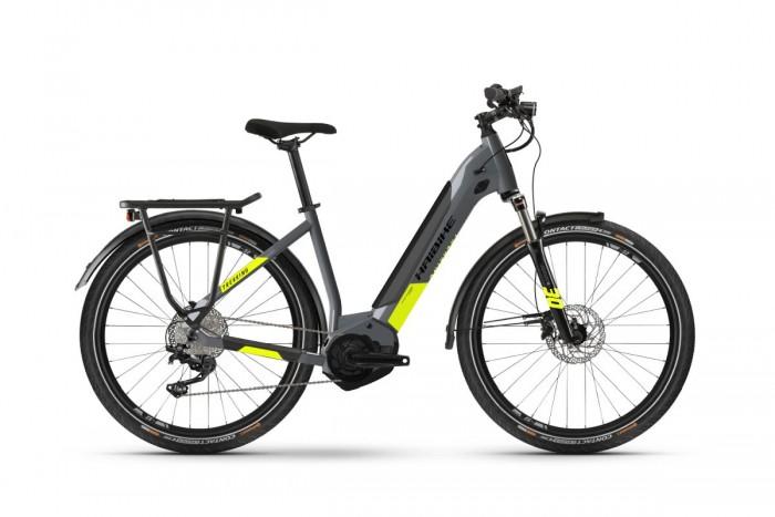 Haibike Trekking 6 27.5'' Unisex Pedelec E-Bike Trekking Fahrrad grau 2021