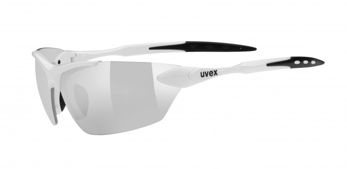 Uvex SGL 203 Fahrrad / Sport Brille weiss