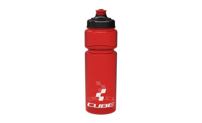 Cube Icon Fahrrad Trinkflasche 0.75 Liter rot