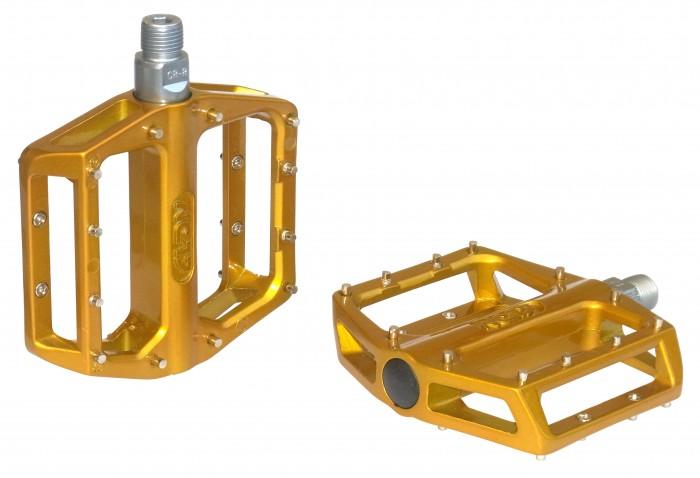 NC-17 Plattform Fahrrad Pedal STD II Pro gold
