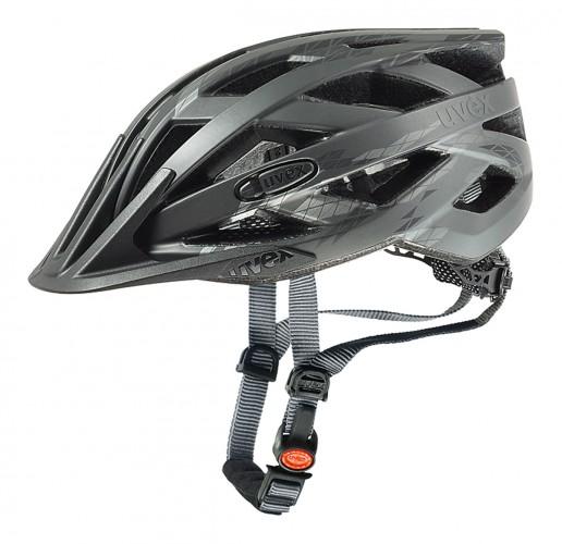 Uvex I-VO CC Fahrrad Helm grau 2021