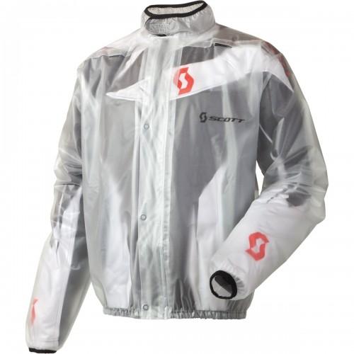 Scott Rain MX Motorrad / Fahrrad Regenjacke klar 2020