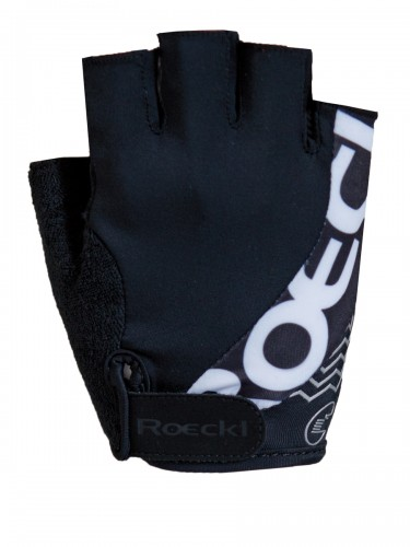 Roeckl Bellavista Fahrrad Handschuhe kurz schwarz 2019