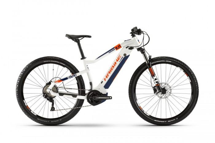 Haibike Sduro HardNine 5.0 29'' Pedelec E-Bike MTB weiß/orange 2020