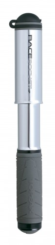 Topeak Race Rocket HP Rennrad Mini Fahrrad Pumpe silber