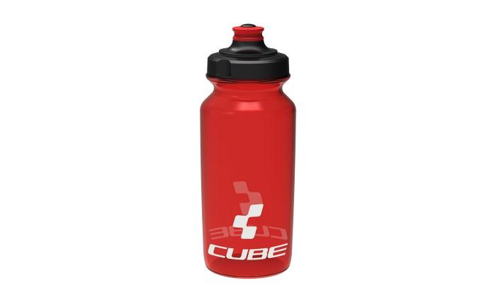 Cube Icon Fahrrad Trinkflasche 0.5 Liter rot