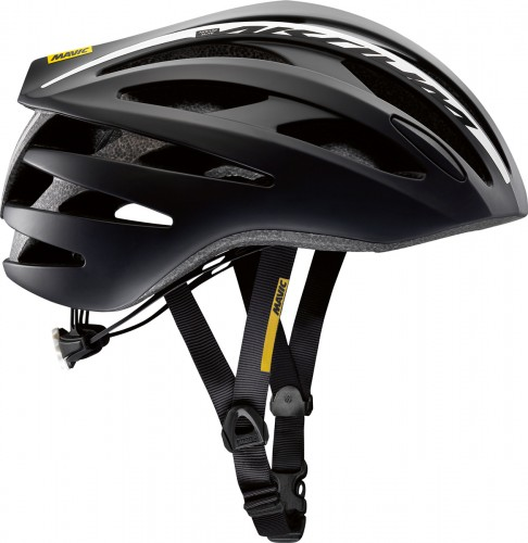 Mavic Aksium Elite Rennrad Fahrrad Helm schwarz/weiß 2018