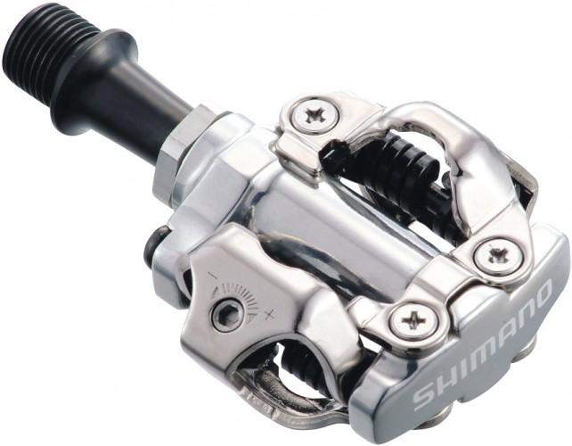 Shimano E-PD-M540 SPD Fahrrad MTB Pedal silber