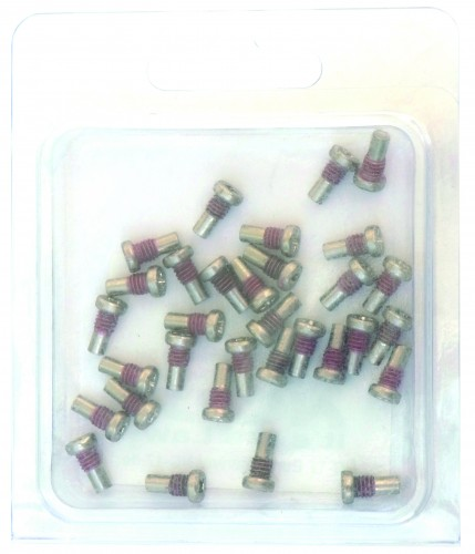 NC-17 Pedal Pins 32 Stück M4x 8mm silber