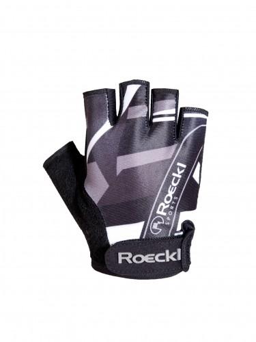 Roeckl Trava Kinder Fahrrad Handschuhe kurz schwarz 2014
