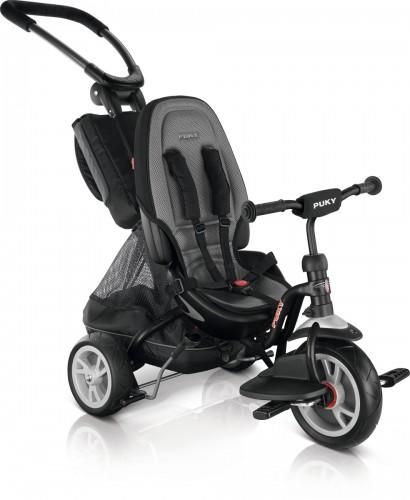 Puky CAT S6 Ceety City Premium Kinder Dreirad schwarz