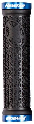 Reverse Grip STAMP Fahrrad Schraubgriffe schwarz/blau