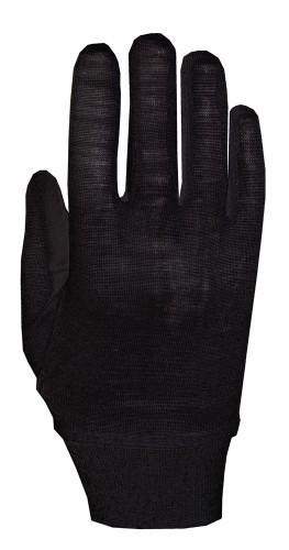 Roeckl Merino Winter Unterziehhandschuh / Handschuhe schwarz