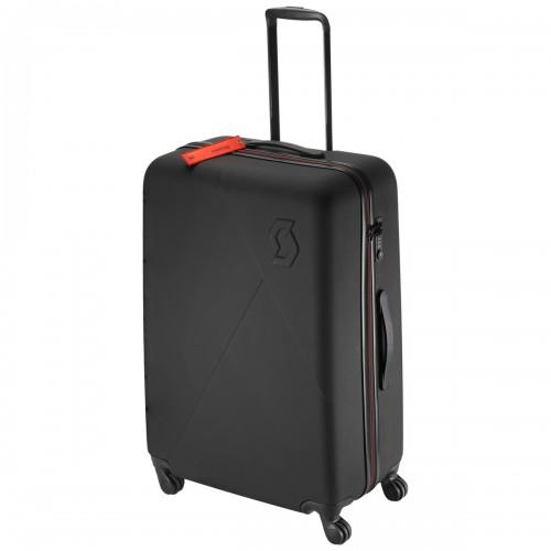 Scott Travel Hardcase 110 Hartschalenkoffer / Trolley schwarz/rot