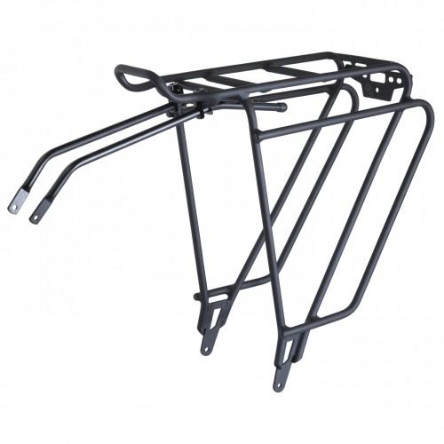 Bontrager Back Rack Deluxe Fahrrad Gepäckträger schwarz / silber