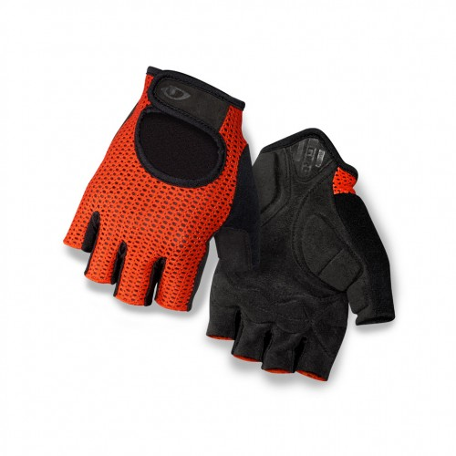 giro siv retro fahrrad handschuhe kurz rot schwarz 2016. Black Bedroom Furniture Sets. Home Design Ideas