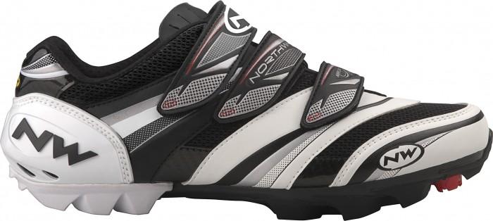 Northwave Lizzard Pro MTB Fahrrad Schuh weiss/schwarz 2011