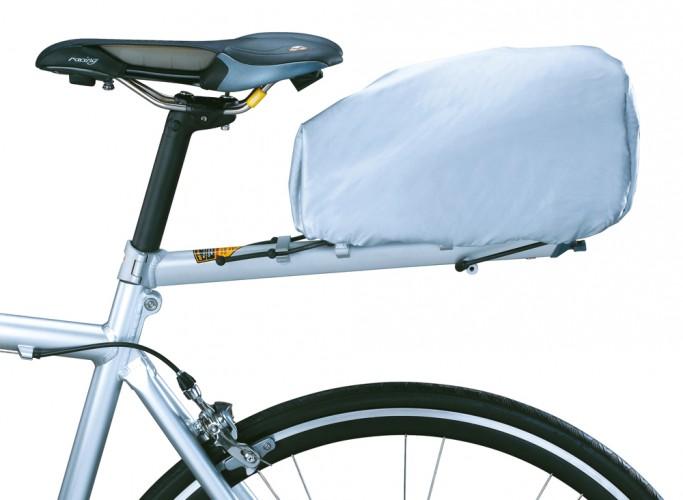 Topeak Regenhülle für RX TrunkBag EX Gepäckträgertasche silber