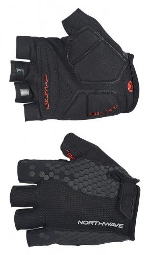 Northwave Evolution Fahrrad Handschuhe kurz schwarz 2019
