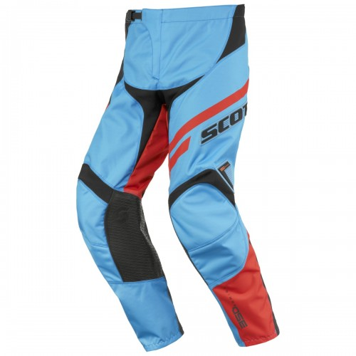 Scott 350 Track MX Motocross / DH Fahrrad Hose blau/orange 2016