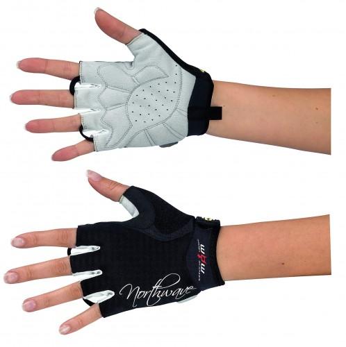 Northwave Crystal Damen Fahrrad Handschuhe kurz schwarz 2016
