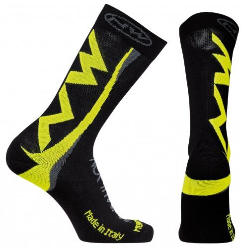 Northwave Extreme Fahrrad Winter Socken schwarz/gelb 2018