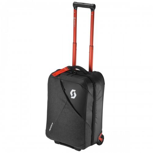 Scott Softcase 40 Koffer / Trolley grau/schwarz/rot