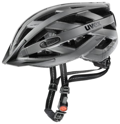 Uvex City I-VO Fahrrad Helm grau matt 2021