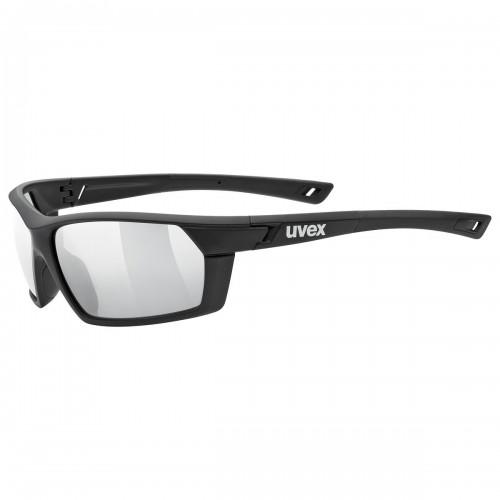 Uvex Sportstyle 225 Fahrrad Sport Brille schwarz matt